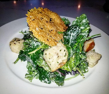 Today's Lunch Special - Kale Caesar Sala