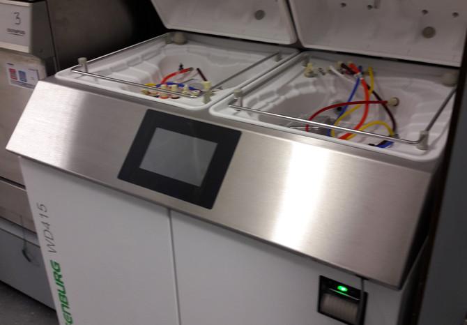 Dotación completa de 3 salas de endoscopia en la Clínica IMQ Zorrotzaurre de Bilbao