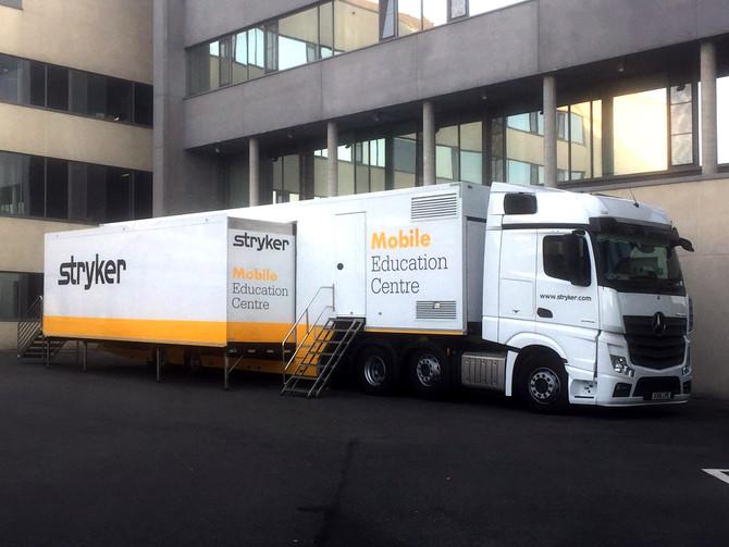 El Mobile Education Centre visita tres hospitales del norte de España