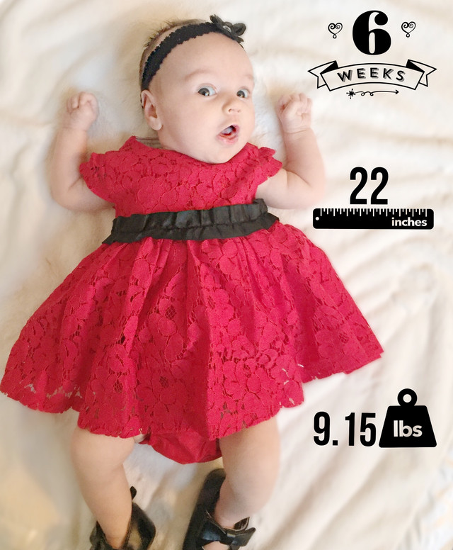Emerson Christine: Six Weeks Old