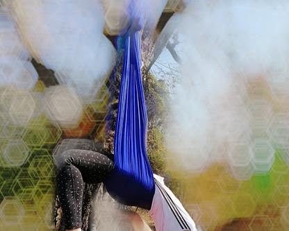 Fascia i Aerial yoga