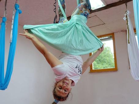 Sličnosti i razlike izmedju Aerial vežbanja na svili i na trapezu
