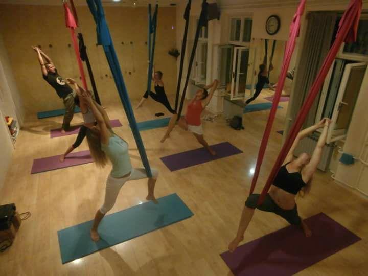 Kurs Lebdeće joge