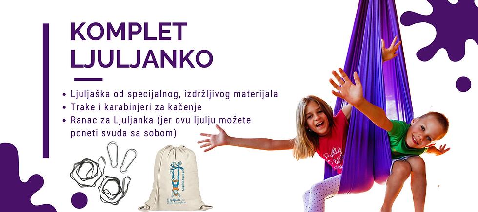 Komplet Ljuljanko