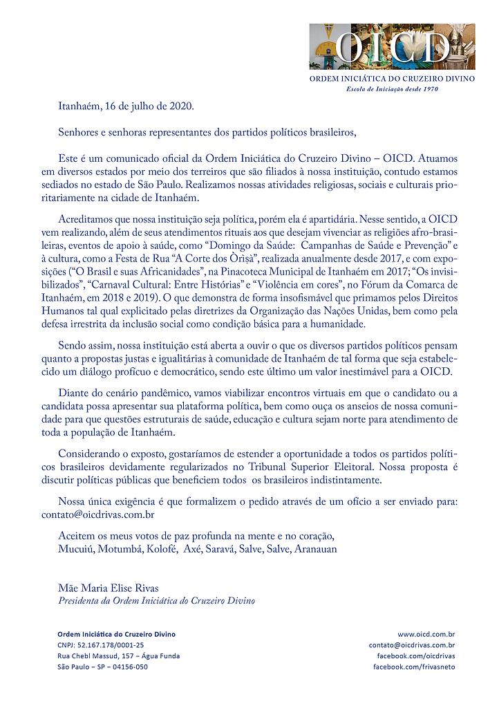 FACEBOOK_02_Carta_aos_Partidos_de_Itanha