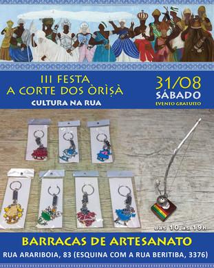"Artesanato - III Festa ""A Corte dos Òrìsà"""