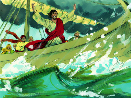JESUS CALMED THE SEA: HE CAN ALSO CALM YOUR HEART!