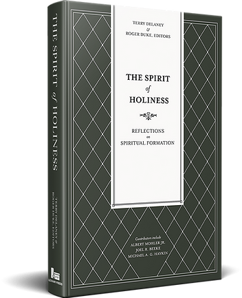 3D Book Cover - The Spirit of Holiness v