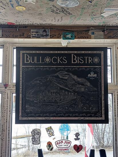 Bullocks Bistro Poster