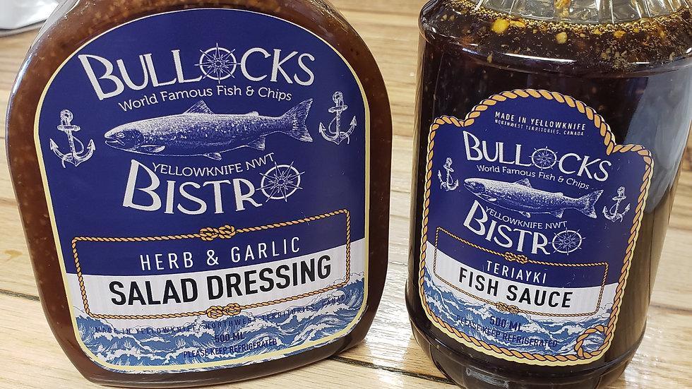 Bullocks Bistro Sauce Case Lot