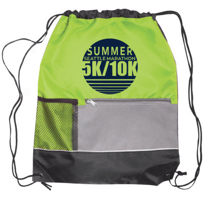 Summer Events Drawstring Tote