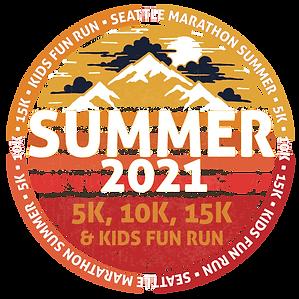 SeattleMarathon Summer 5k/10k & Kids Fun Run Vendor Booth 2021
