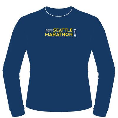 2015 Amica Insurance Seattle Marathon Participant Shirt