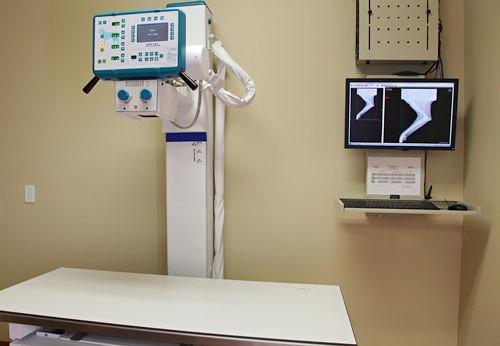Direct digital X-ray