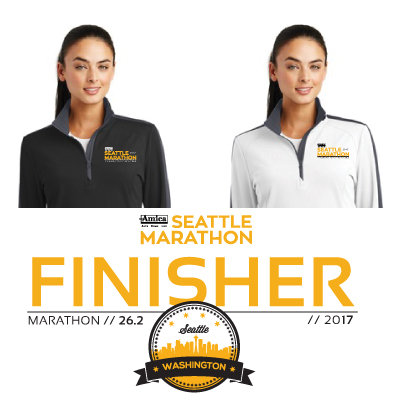 2017 Women's Finisher Half-Zip