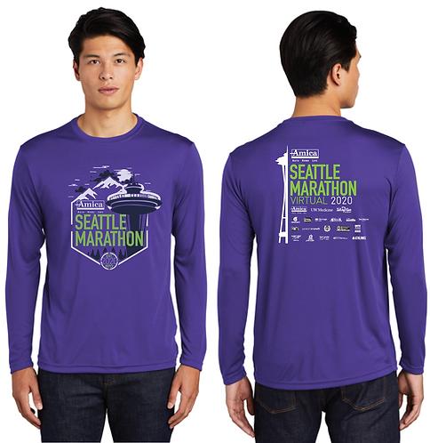2020 Amica Insurance Seattle Marathon Participant Shirt
