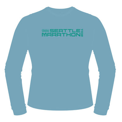 2011 Amica Insurance Seattle Marathon Participant Shirt