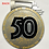 Thumbnail: 50th Anniversary 2019 Amica Insurance Seattle Marathon Medal