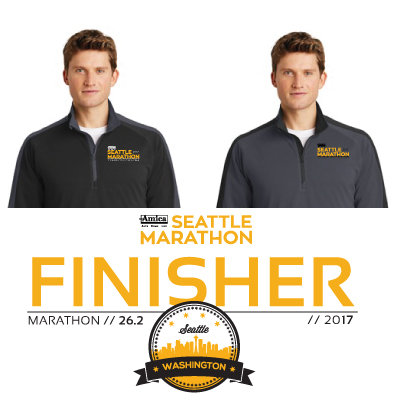 2017 Men's Finisher Half-Zip