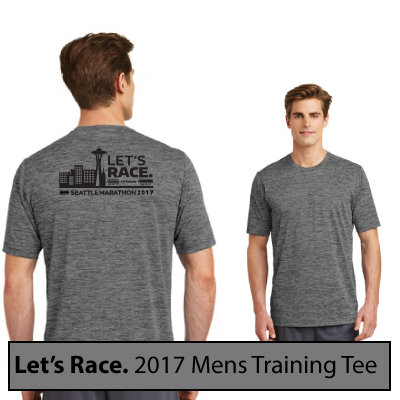 2017 Mens Let's Race Training Tee