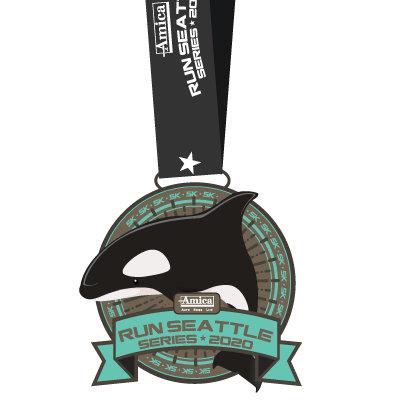 2020 Virtual Run Series Medals