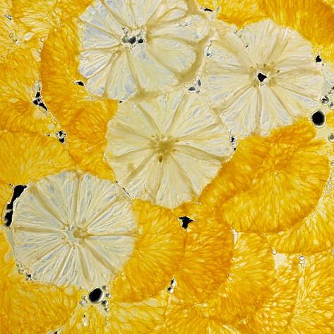 « Mur d'agrumes » - #MDE03 par Mathilde de l'Ecotais