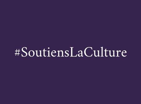 #SoutiensLaCulture