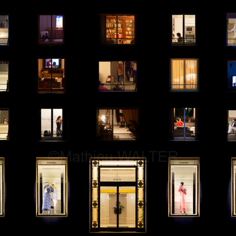 Windows Night Fashion par Mathieu Walter