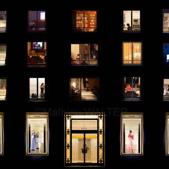 Windows Night Fashion par Mathieu Walter
