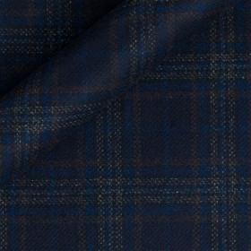 Tissu Prince de Galles en pure laine vierge et cachemire