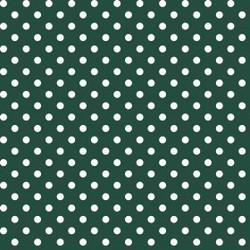 Tissu en sergé de soie avec imprimé à pois