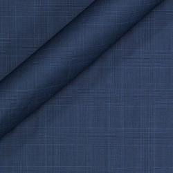 Tissu à carreaux en pure laine vierge Super 130's