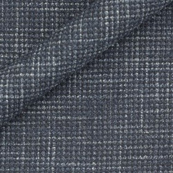 Tissu en laine et soie avec micro-design