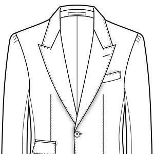 épaule napolitaine veste, épaule italienne veste,