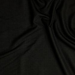 Tissu micro pied-de-poule en double retors en pure laine vierge