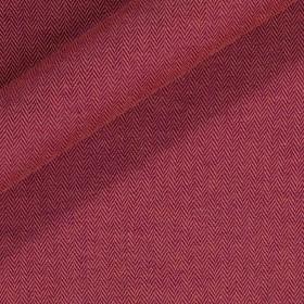 Tissu en lin extensible avec motif chevron