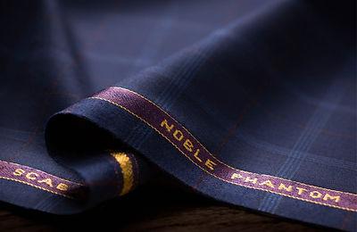 Tissus anglais Scabal - Noble Phantom