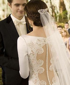 Robe de mariée Kristen Stewart dans Twilight | Robe en dentelle à lille
