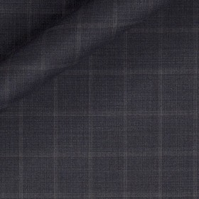 Tissu à grands carreaux en pure laine vierge