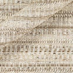 Tissu bouclé avec fils entrelacés