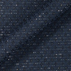 Tissu tweed à paillettes