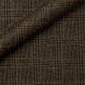 Tissu Prince de Galles en flanelle en pure laine vierge