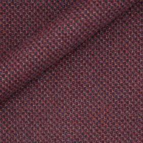 Tissu micro-designs en laine, soie et cachemire