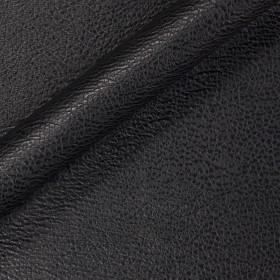 Tissu uni en simili cuir écologique grainé