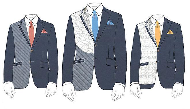 Les différents entoilages de veste lille, entoilage complet, veste semi-entoilée, veste entoilage traditonnel,