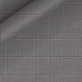 Tissu grands carreaux en pure laine
