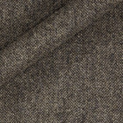 Tissu de tweed à micro-motifs en pure laine vierge