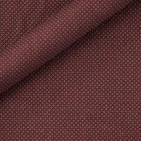 Tissu micro-design en chanvre et laine