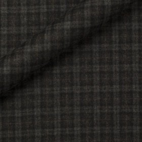 Tissu en flanelle à carreaux en pure laine vierge