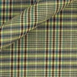 Tissu en coton à double carreaux Prince de Galles